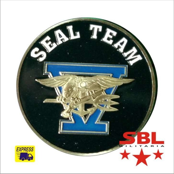 Moeda Us Navy Seal Seal´s Team 5 Especial Forces