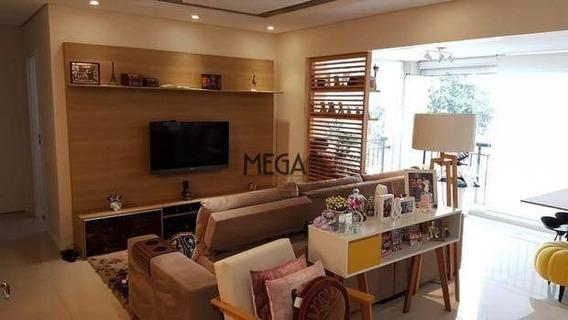 Apartamento Com 2 Dormitórios À Venda, 84 M² Por R$ 795.000 - Vila Vera - São Paulo/sp - Ap0368