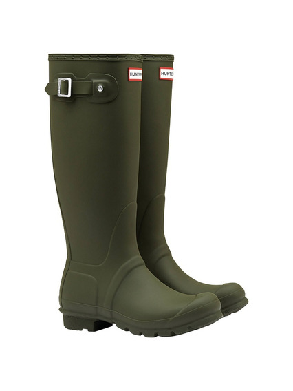 Botas Hunter De Lluvia Original Tall Verde Oliva