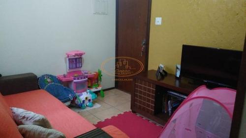 Apartamento  Com 1 Dormitório(s) Localizado(a) No Bairro Itararé Em São Vicente / São Vicente  - 5967