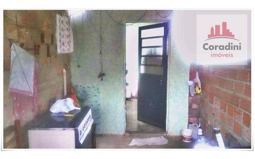 Imagem 1 de 4 de Casa Com 2 Dormitórios À Venda, 70 M² Por R$ 200.000 - Jardim Dos Lírios - Americana/sp - Ca0893