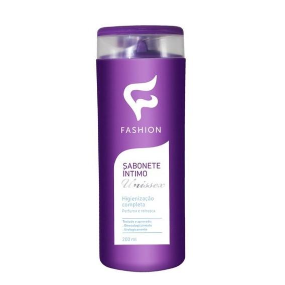 3 Sabonete Íntimo Líquido Unisex Fashion 200ml