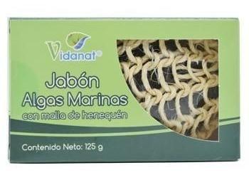 Jabón Exfoliante De Algas Marinas Para Todas Las Pieles