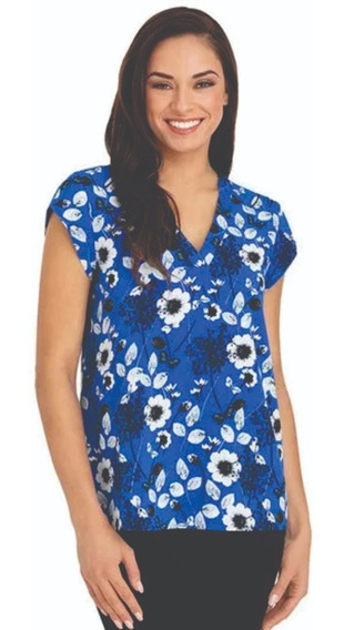 Outlet Hilary Radley Blusa Mujer Azul Xxl