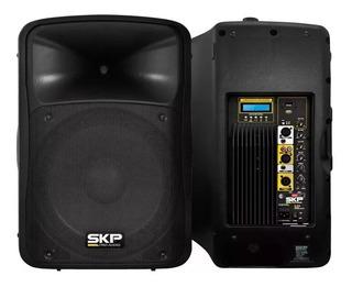 Bafle Activo Skp Sk-5p Usb Mp3 Bluetooth Fm 250 Watts Rmp