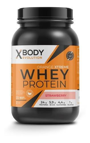 Imagen 1 de 1 de Proteina Whey Protein X Body Evolution Orange Xtreme 907g