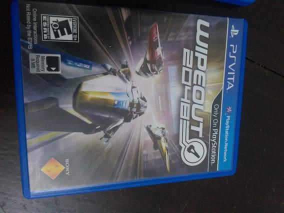 Wipeout 2048 Para Playstation Vita - Mídia Física