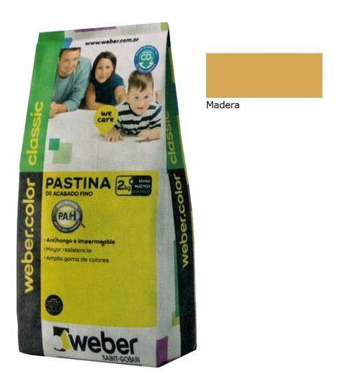 Weber Color Pastina Classic Madera 2kg