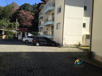 Apartamento A Venda No Bairro Cascatinha Em Nova Friburgo - - Av-081-1