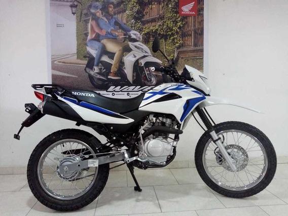 Honda Xr150l Blanco/azul