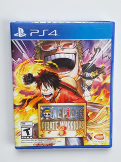 One Piece Pirate Warriors 3 Juego Ps4 Nuevo Y Sellado