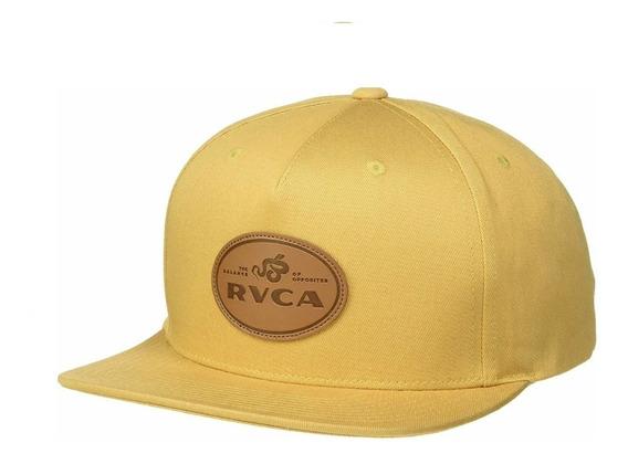 Gorra Rvca Vicera Plana Original