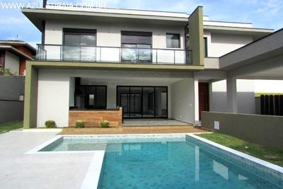Casa Alto Padrão Em Atibaia, Condomínio Porto De Atibaia - Ca00446 - 34190737