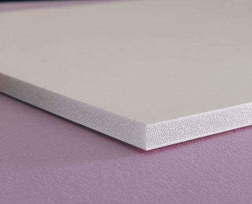 Foamboard Placa Blanco 70x100 Cm / 5 Mm X 5 Unidades