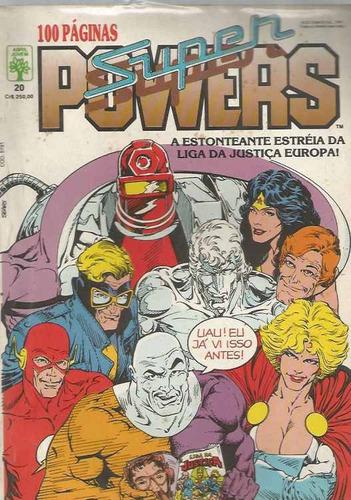 Super Powers 20 - Abril - Bonellihq Cx154 K19