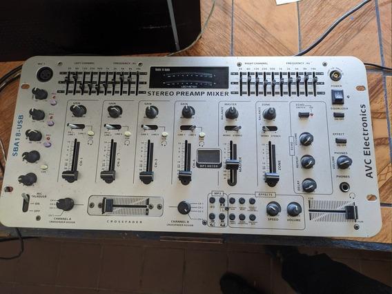 Mezclador De Miniteca, Controlador De Sonido, Consola