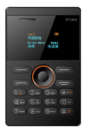 Ifcane E1 2g Celular Ultra Fino Cartão Mini Mp3 Bluetooth