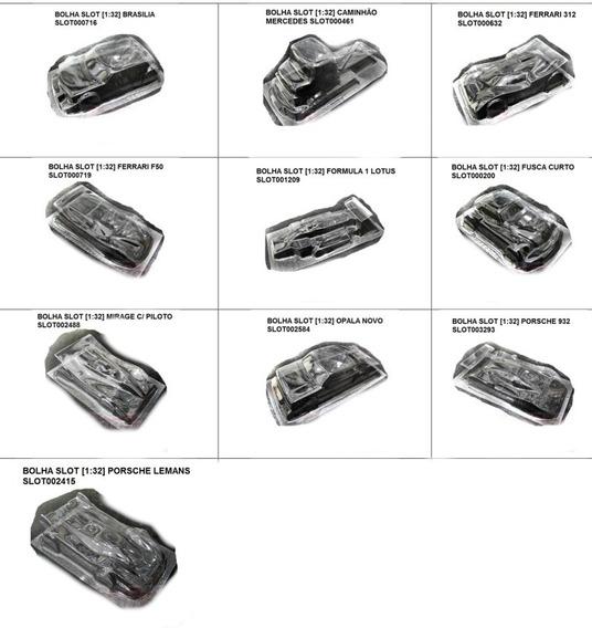 Autorama Bolha Slot Car Carroceria 1/32 10 Modelos Pacotão 4