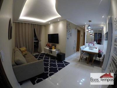 Apartamento Com 2 Dormitórios À Venda, 62 M² Por R$ 367.000 - Vila Carrão - São Paulo/sp - Ap3984