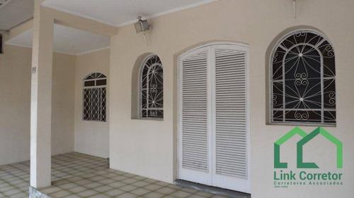 Casa À Venda, 194 M² Por R$ 480.000,00 - Jardim Bela Vista - Campinas/sp - Ca0551