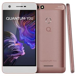 Celular Quantum You Q17 32gb 4g Dual 3gb Ram Biometria
