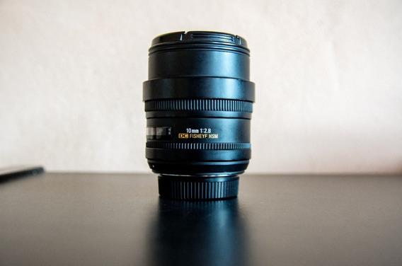 Lente Sigma 10mm F2.8 Ex Dc Hsm Fisheye Nikon