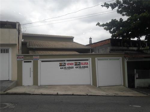 Imagem 1 de 10 de Sobrado À Venda, 4 Quartos, 5 Vagas, Gilda - Santo André/sp - 66395