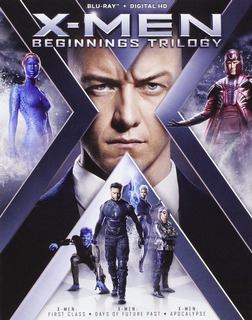 Blu-ray X-men Apocalypse + First Class + Days Of Future Past