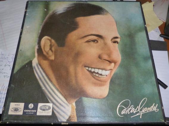 Lp Vinilo - Carlos Gardel - Aniversario - Caja 3 Discos -exc