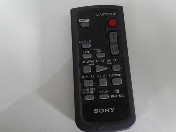 Controle Remoto Filmadora Sony Rmt-831 Original Novo
