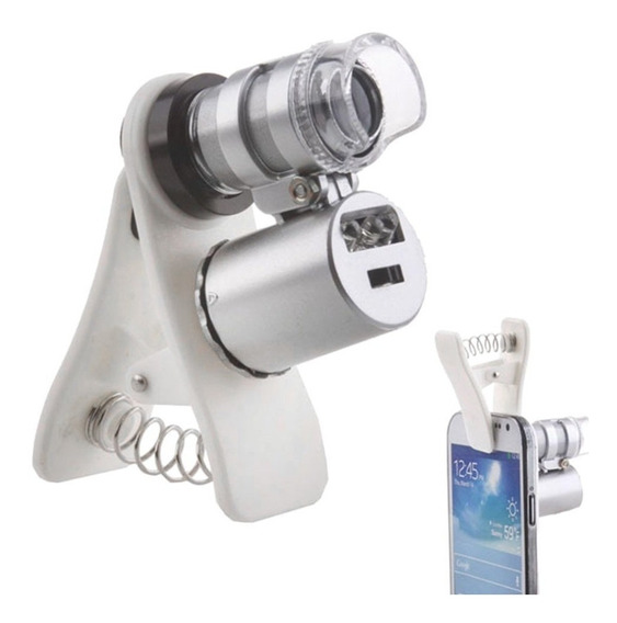 Lupa Microscopio Relojoeiro 60x Celular Fotos Eletronica Bga