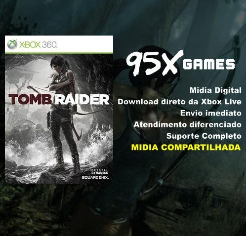 Tomb Raider - Midia Xbox 360