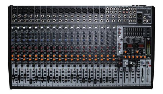 Mesa De Som Behringer Xenyx Sx2442 Mixer 24 Canais Cod1447
