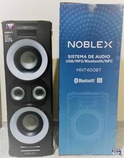 Parlante Bluetooth Con Luces Y Nfc Noblex Mnt400bt