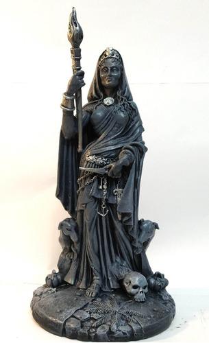 Deusa Hecate Estatua Em Resina 29 Cm
