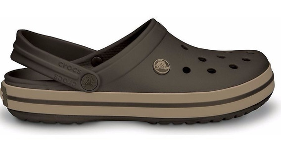Zapato Crocs Caballero Crocband Café