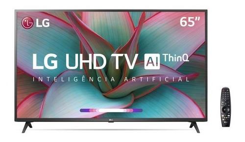 Imagem 1 de 7 de Smart Tv LG 65  4k Uhd Wifi Bluetooth Hdr C/ Smart Magic