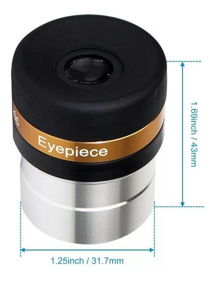 Ocular 4mm Telescópio, Angulo 62° - 1,25