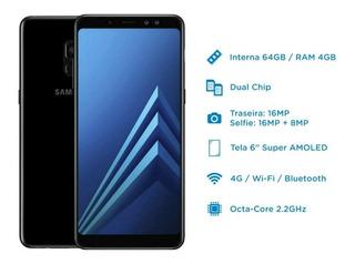 Smartphone Samsung Galaxy A8+(plus) 64gb(+ Micro Sd 128gb).