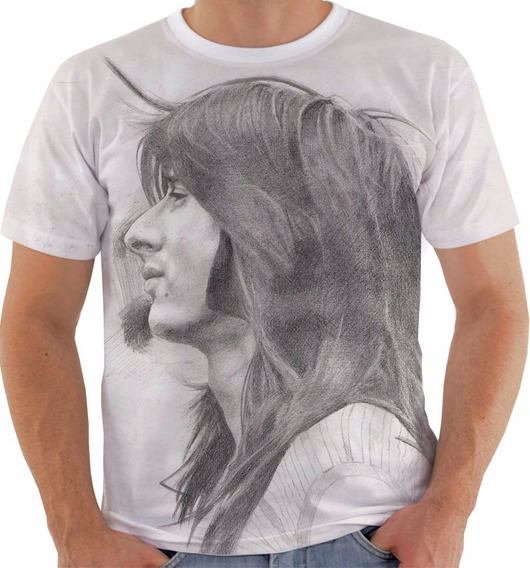 Camisa Ou Baby Look 1072 Steve Perry Vocal Journey 2