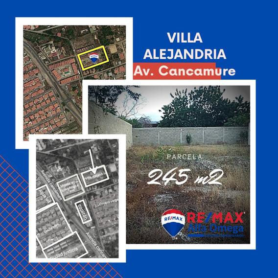 Parcela 245 M2 Urb. Villa Alejandria Av. Cancamure