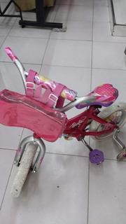 Bicicleta Unibike Barbie Original