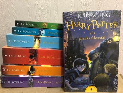 Harry Potter Colección Completa 1 A 7 - J.k. Rowling