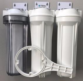 Filtro Deionizador 3 Estágios Aquários Promoção Frete Grátis