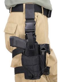 Piernera Tactica Militar Porta Arma Tornado Pistola Holster