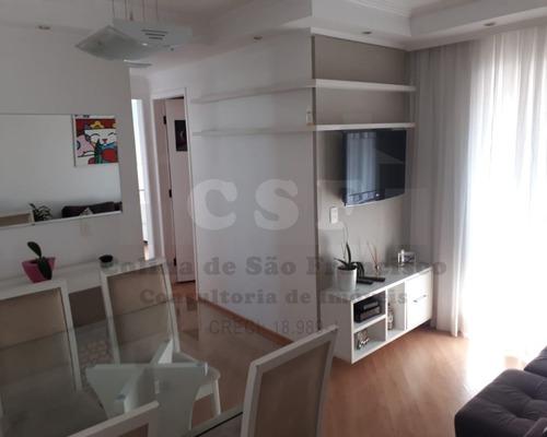 Imagem 1 de 19 de Apartamento De 62m²  2 Dormitórios  Vila Yara - Osasco - Ap14743 - 69422688