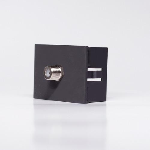 Imagen 1 de 4 de Modulo Para Video Cable Universal Con Rosca Cambre 7936