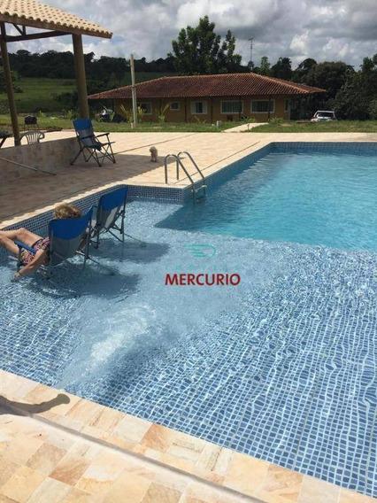 Chácara Com 3 Dormitórios À Venda, 871200 M² Por R$ 4.200.000 - Núcleo Residencial Edison Bastos Gasparini - Bauru/sp - Ch0140