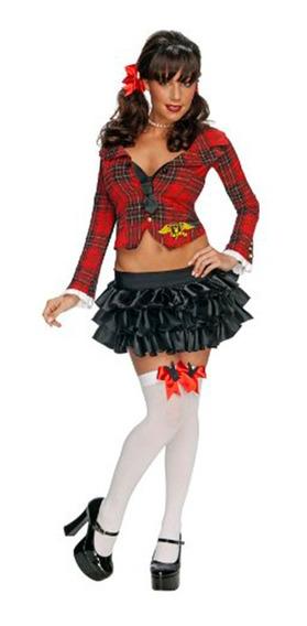 Disfraz Colegiala Sexy Adulto - Halloween Importado M