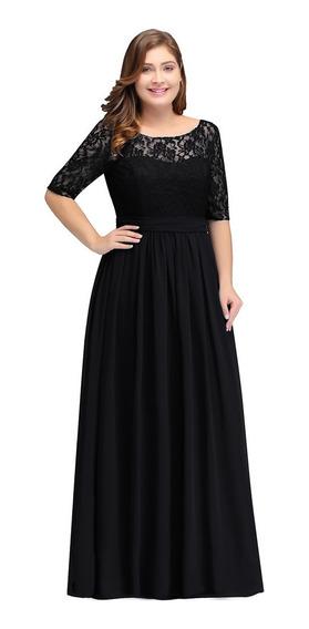 Vestido Elegante Bodas, Graduaciones Xv Años, Dama R9827